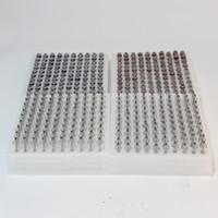 cartucho de 1 ml al por mayor-Vape cartuchos de 0,5 ml de 1 ml Carros Cartuchos aceite espeso vidrio Pyrex vaporizador cartuchos cerámicos para CE3 BUD Vape Baterías