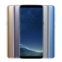 android refurbished cell phones al por mayor-Samsung Galaxy S8 S8 + 5.8 pulgadas más original Octa Core 4GB / 64GB Reconocimiento de huellas dactilares 12.0MP 4G LTE Teléfonos celulares reacondicionados con teléfono inteligente