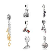 Wholesale christmas glasses sunglasses resale online - DORAPANG NEW Sterling Silver Scooter Sunglasses Mittens Crown International Partners Castle Loved Script Hanging Charm