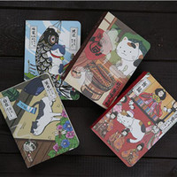 Wholesale hard cover journals for sale - Group buy 1pcs Creative Japanese Cat Notebook Planner Agenda Diary Hard Cover Yearly Monthly Planning Papers Journal Notebook Daily Memos