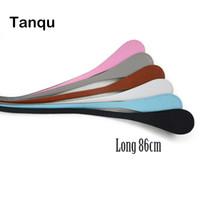 teardrop taschen großhandel-TANQU Neue Lange Extra Slim Austauschbare Teardrop Griffe Kunstleder Griffe für OBag für EVA O Bag Body