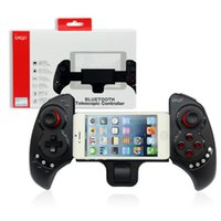 Wholesale bluetooth game controller for pc resale online - Wireless Bluetooth Gamepad Controller For Android iOS Tablet PC Telescopic Handle Game Joystick For Pad Win