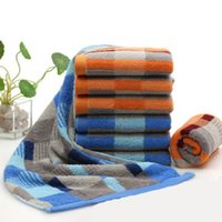 bambu kurutucu toptan satış-Bambu Pamuk Havlu Yetişkinler Için Yüksek Emici Antibakteriyel Katı Banyo Havlusu Hızlı Kuruyan Yumuşak 35X75 CM 2 Renkler Kalın Plaj