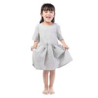детские ремешки оптовых-Высококачественная детская повседневная одежда с короткими рукавами для маленьких девочек