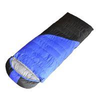 intervalos de luz venda por atacado-Ultra Leve Ao Ar Livre Branco Pato Para Baixo Saco de Dormir Saco de Dormir Saco de Dormir Acampamento Meio-dia Splicing Quente À Prova D 'Água