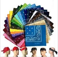 foulard d'extérieur multifonctionnel achat en gros de-Paisley Design élégant Magic Ride Magic Bandana Bandana Foulard Bandeau Multifonctionnel Foulard Tête Extérieure 55 * 55cm CNY14