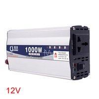 ingrosso trasformatore di protezione-600W 1000W Surge Protection onda sinusoidale pura Power Inverter di uso della casa Transformer 12V 24V a 220V di alimentazione per auto portatile pratico