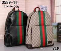 neuer styl großhandel-2019 NEUE hochwertige frauen taschen Berühmte designer handtaschen leinwand rucksack frauen schultasche Rucksack Styl rucksäcke # G87