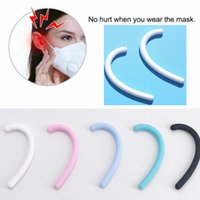 Mask Soft Silicone Ear Hook Anti-Leak Anti-Pain Invisible Earmuffs Ear Protection Ear Artifact Epidemic Prevention Supplies