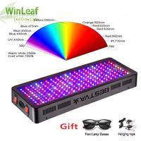 ingrosso fioritura led crescere luce-LED coltiva lo spettro completo chiaro 600W 800W 1000W 1200W 1500W 2000W Doppio Chip rosso / blu / UV / IR per le piante d'VEG BLOOM