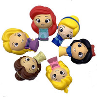 Wholesale rubber dolls child for sale - Group buy Squishy Girl Pattern Toy Reduce Pressure Emulation Princess Model Child Dolls Lovely Slow Rebound Various Style zxa F1