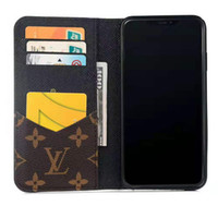 Wholesale china phone iphone for sale – best Luxury Designer Phone Wallet Case For iPhone Pro XR XS Max X Plus Cases With Card Bag Handbag