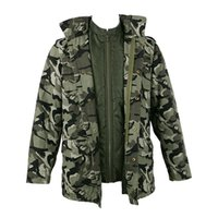 m65 military jackets 2021 - Camouflage coat for young man military M65 cotton jackets with detachable Liner new arrival for winter and fall