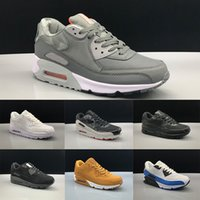 Wholesale mens basketball shoes online for sale - Group buy 2019 Men Women Running Shoes Core Triple Black White Wheat Red Grey Oreo Blue Cheap Mens Trainer Sport Sneaker Size Online