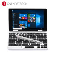 Wholesale tablet netbook for sale - One Netbook One Mix Yoga Pocket Laptop Tablets With Keyboard Windows Intel Atom X5 Z8350 Quad Core GB GB Notebook