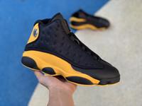 купить черные туфли оптовых-Топ 13 13S дизайнер кроссовки Баскетбол мужская обувь купить дешевые онлайн спортивная обувь на продажу синий черный и белый.