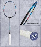 leichte badmintonschläger großhandel-Badmintonschläger Schläger VICTOR THRUSTER K F TK-F Carbon