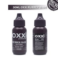 Wholesale black rubber nipple for sale - Group buy oxxi Latest ml Nail Rubber Base Coat Nipple Bottle Soak off Semi Permanent UV Gel Varnish For Nail Art Rubber Top Coat Gellak