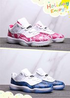 Wholesale denim blue ladies shoes online - 2019 Hot Sale Low Pink Navy Blue Snakeskin Man Women Basketball Shoes s White Mens Ladies Sports Trainer With Box