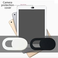 Wholesale Universal Plastic Black WebCam Cover Shutter Magnet Slider Camera Cover for IPhone Laptop Mobile Phone Len Privacy Stickers