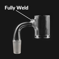 água dos eua venda por atacado-Perfeito EUA totalmente soldada selo Quartz Banger 25 milímetros XL chanfrado borda superior mel Bucket 18 milímetros feminino 14 milímetros para dab sonda vidro Água Bongos