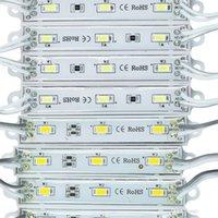 módulos de refrigeración al por mayor-Módulo de luz LED DHL, módulo de luz LED superbrillante impermeable SMD5630, blanco frío / blanco cálido / amarillo / azul / verde, DC12