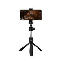 tripé vara venda por atacado-K05 selfie vara tripé suporte 4 em 1 telescópica monopé estéreo bluetooth telefone remoto para iphone x 8 android gopro