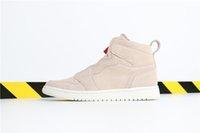zapatos de baloncesto talla 5.5 8.5 al por mayor-Con caja Particle Beige 1 mujer zapatos de diseñador de baloncesto Zapatillas deportivas High Zip zapatillas de deporte de moda al aire libre de alta calidad tamaño 5.5-8.5