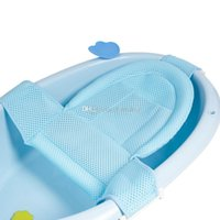 soportes de ducha al por mayor-Baby Bath Net Bracket Antis-Slippery Bañera Bañera Ducha Cuna Cama Asiento Net Baño Asiento Soporte Red Nettubtub