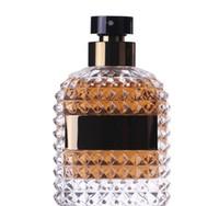vaporisateurs de luxe achat en gros de-Parfum Uomo Classic Luxury Bottle Parfum pour homme 100ml EDT Spray aromathérapie Notes boisées Frais et durable