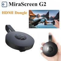 tv андроиды палочки оптовых-Mirascreen Г2 цифровой HDMI стример медиа Видео через Chromecast Miracast и Г2 WiFi ТВ придерживайтесь Dongle произвольный HDTV для ПК Android-ТВ