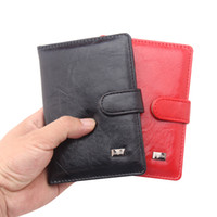 Wholesale travel document wallet leather for sale - Group buy 100pcs Leather Passport Cover Men Women Travel Wallet Holder Cover Russian Driver License Wallet Document Case