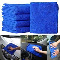 Wholesale clean car detailing resale online - Car Soft Microfiber Cleaning Towel Car Wash Dry Clean Polish Cloth Motorcycle Detailing Care Kitchen Housework Towel Retail