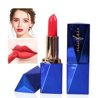 Wholesale lipsticks low prices for sale - Group buy New blue matte lipstick girl daily lip makeup lipstick low price hot Cheap color new hot sale