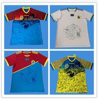 Wholesale national soccer sleeve for sale - Group buy 19 Congo Soccer Jerseys Congo Home National Team Congo African Cup Short Sleeve Football Shirt Uniform