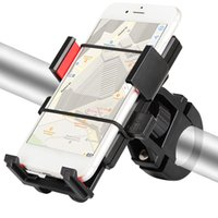 Wholesale cycling phone holder resale online - Bike Phone Holder ABS Universal Inch Cell Phone GPS Mount Holder Bicycle Support Cycling Bracket Mount