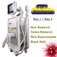 Wholesale yag machines online - New Powerful IPL SHR Elight Hair Removal System OPT machine tattoo removal yag laser rf face lift multi function machine
