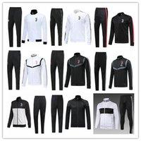 italya ceketleri toptan satış-2019 2020 RONALDO JUVENTUS futbol ceket eşofman Survetement 19 20 İtalya ceket spor