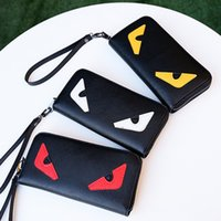 Wholesale video games media for sale - Group buy Little Monster Wallets High Quality PU Leather Fashion Cross wallet Designer Credit Card Cellphone Purses Colors Hot Sale