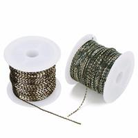 cadena de latón de 1 mm al por mayor-Venta al por mayor 10 yardas / lote 1 mm Electroforesis Cadena de cobre Cadenas de oro coloridas Hallazgos Cadenas de latón a granel para DIY Accesorios de joyería