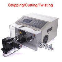 Wholesale wire cutting machines for sale - Group buy SWT508 NX2 wire in stripping cutting twisting machine digital automatic cable cutter V V