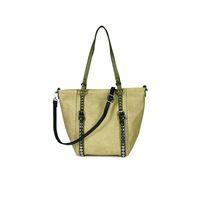 Wholesale ladies working handbags resale online - 2018 Luxury Designer Rivets Crossbody Bags for Women Famous Brands PU Leather Handbags Shoulder Bag Lady Casual Travel Work Tote Hand Bags