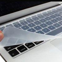 capas de laptop de 15 polegadas venda por atacado-Silício Teclado Capa Laptop Protetor de Notebook Pele Película Universal para Macbook Pro 13 15 17 11/12 // 14 polegada Laptop