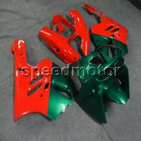 1997 kawasaki fairings toptan satış-23 renkler + Hediyeler kırmızı yeşil motosiklet Kawasaki ZX9R 1994 1995 1996 1997 ZX-9R ABS motor panelleri