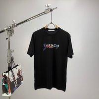 camisas venda por atacado-givenchy giv Marcas new Hip Hop mens t-shirt de Algodão de Manga Curta tops tee camisa poloshirt homens teel hip 3g Designers homens mulheres t camisas