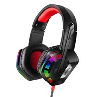 Wholesale headset microphone for pc usb for sale - Group buy M1 Gaming Headphone LED Colorful Wired Game Headsets with USB Microphone for PC Computer Gamer Anti noise bass Headphones