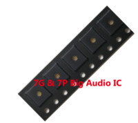 iphone 4s prata venda por atacado-10 pçs / lote cs42l71 u3101 338s00105 para iphone 7 7 plus grande principal codec ic chip de áudio
