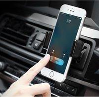 мобильный стенд iphone оптовых-Автомобильный держатель телефона для iPhone 8 X Air Vent Держатель Стенд 360 Вращение Стенд мобильного телефона для Samsung Xiaomi Stand