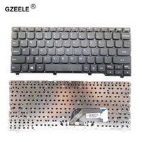 lenovo ideapad clavier achat en gros de-GZEELE New US Clavier anglais Pour Lenovo IdeaPad 100S 100S-11IBY clavier d'ordinateur portable US noir / blanc