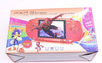 video oyun istasyonları toptan satış-Sıcak PXP3 Klasik Oyunları Ince Istasyonu El Oyun Konsolu 16 Bit Taşınabilir Video Oyun Oyuncu 5 Renk Retro Cep Oyun Oyuncu Ücretsiz Kargo